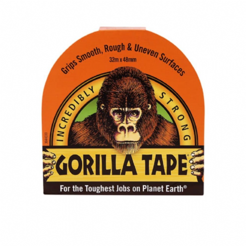Gorilla 3044001 Tape Black 48mm x 11m